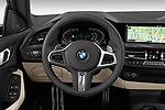 Car pictures of steering wheel view of a 2020 BMW 2-Series M-Sport 4 Door Sedan Steering Wheel