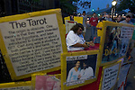 April 14, 2006 - Fortune tellers set up outside the gates of Jackson Square, New Orleans, LA