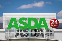 ASDA 24 hour shop sign