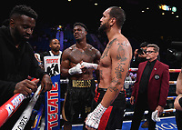 LAS VEGAS - NOVEMBER 23: Marsellos Wilder v Dustin Long on the Fox Sports PBC Fight Night at the MGM Grand Garden Arena on November 23, 2019 in Las Vegas, Nevada. (Photo by Frank Micelotta/Fox Sports/PictureGroup)