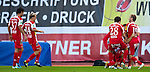 10.09.2011, Franz Fekete Stadion, Kapfenberg, AUT, 1. FBL, KSV 1919 vs Red Bull Salzburg, im Bild Torjubel der Mannschaft des KSV, EXPA Pictures © 2011, PhotoCredit: EXPA/ M. Kuhnke