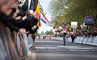 victory for Tim Wellens (BEL/Lotto-Soudal) at the 58th Brabantse Pijl 2018 (BEL)