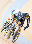 Ethan Mitchell of New Zealand competes on the Men's Sprint Quarter-finals - 2nd Race during the 2017 UCI Track Cycling World Championships on 15 April 2017, in Hong Kong Velodrome, Hong Kong, China. Photo by Marcio Rodrigo Machado / Power Sport Images