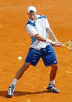 5-6-06,France, Paris, Tennis , Roland Garros, Hewitt in actie tegen Nadal