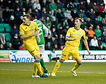 Hibs v St Johnstone…18.11.17…  Easter Road…  SPFL<br />Liam Craig reacts after hitting th cross bar<br />Picture by Graeme Hart. <br />Copyright Perthshire Picture Agency<br />Tel: 01738 623350  Mobile: 07990 594431