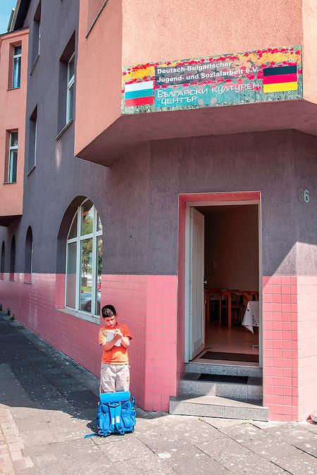 """Der Deutsch-Bulgarischer Verein """"Jugend und Sozialarbeit"""" in Duisburg-Hochfeld"""