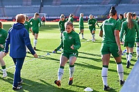 Ellen Molloy (17) of the Irish Republic pictured ahead of a friendly female soccer game between the national teams of Belgium , called the Red Flames and The Republic of Ireland , on sunday 11 th of April 2021  in Brussels , Belgium . PHOTO Dirk Vuylsteke | Sportpix.be | SPP