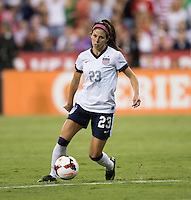 Erika Tymrak. The USWNT defeated Mexico, 7-0, during an international friendly at RFK Stadium in Washington, DC.  The USWNT defeated Mexico, 7-0.