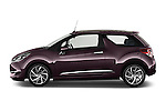 Car Driver side profile view of a 2016 Ds DS-3 Sport-Chic 2 Door Convertible Side View