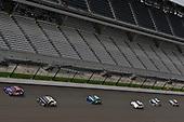 #11: Denny Hamlin, Joe Gibbs Racing, Toyota Camry FedEx Possibilities and #10: Aric Almirola, Stewart-Haas Racing, Ford Fusion Smithfield