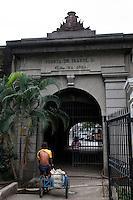 Philippines, Manila, 5 march, 2008..Puerta Isabel II in Intramuros the oldest district of the city of Manila...Puerta Isabel II, een oude stadspoort, in Intramuros, het oudste district van Manila, de hoofdstad van de Filippijnen...Photo Kees Metselaar