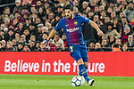 Luis Alberto Suarez Diaz of FC Barcelona in action during the La Liga 2017-18 match between FC Barcelona and Girona FC at Camp Nou on 24 February 2018 in Barcelona, Spain. Photo by Vicens Gimenez / Power Sport Images