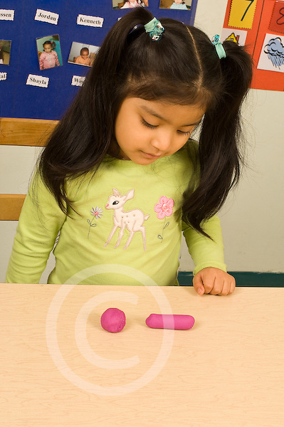 Piaget Preoperational child conservation of solid quantity also called conservation of matter