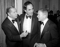 Milton Berle Robert Klein Red Buttons 1984<br /> Photo By John Barrett/PHOTOlink