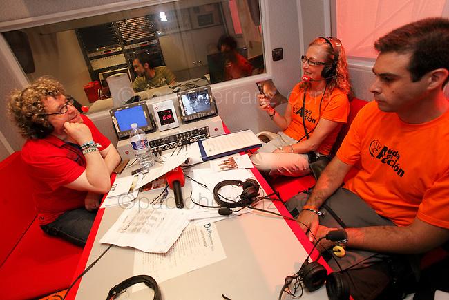 Presencia de Ayuda en Accion en el Festival de Benicassim.
