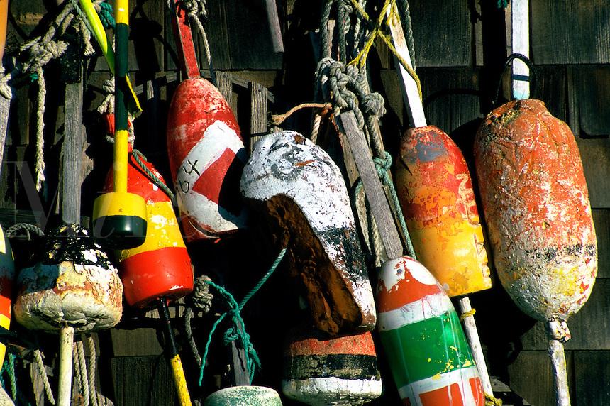 Lobster buoys.