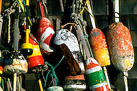 Lobster buoys.