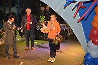 SCHAATSSPORT: HEERENVEEN: 22-03-2018, De Oude Koemarkt, Huldiging Olympiërs, ©foto Martin de Jong