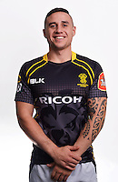 TJ Perenara. Wellington Lions ITM Cup official headshots at Rugby League Park, Wellington, New Zealand on Monday, 28 July2014. Photo: Dave Lintott / lintottphoto.co.nz