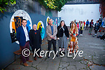Wall Murals Unveiling: Pictured at the unveiling of the wall  murals at Listowwl Hanbally Alley on Saturday evening were Mayor of Kerry Cllr Jimmy Moloney, Junior Griffin, Paul Bokslag and artists Eimear O'Connor & Michelle Quinn. Missing were artists Jack McKenna & Erin Halpin.