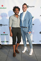 Los Angeles, CA -April 1: Keith Giddings, Kieran Altmann, at the LOS ANGELES PRESS LINE FOR THE PREMIERE OF SHIVA BABY at JW MARRIOTT – DTLA in Los Angeles California on April 1, 2021. <br /> CAP/MPIFS<br /> ©MPIFS/Capital Pictures