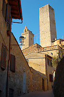 Medieval Towers- San Gimignano - Italy