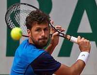 Paris, France, 23 june, 2016, Tennis, Roland Garros, Robin Haase (NED)<br /> Photo: Henk Koster/tennisimages.com