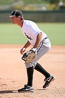 Jon Gilmore - Chicago White Sox - 2010 Instructional League.Photo by:  Bill Mitchell/Four Seam Images..