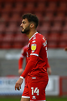 Tarryn Allarakhia of Crawley Town during Crawley Town vs Carlisle United, Sky Bet EFL League 2 Football at Broadfield Stadium on 21st November 2020