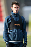 St Johnstone Training…12.12.17<br />Scott Tanser pictured during training this morning at McDiarmid Park ahead of tomorrow's game against Aberdeen<br />Picture by Graeme Hart.<br />Copyright Perthshire Picture Agency<br />Tel: 01738 623350  Mobile: 07990 594431