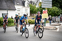 Tao Geoghegan Hart (GBR/INEOS Grenadiers) post-race<br /> <br /> Stage 3 from Lorient to Pontivy (183km)<br /> 108th Tour de France 2021 (2.UWT)<br /> <br /> ©kramon