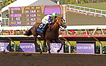 DEL MAR, CA - NOVEMBER 04: Good Magic #6, ridden by Jose Ortiz, flies down the stretch during the Sentient Jet Breeders' Cup Juvenile race on Day 2 of the 2017 Breeders' Cup World Championships at Del Mar Racing Club on November 4, 2017 in Del Mar, California. (Photo by Sue Kawczynski/Eclipse Sportswire/Breeders Cup)