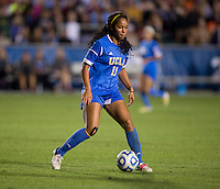 Darian Jenkins. UCLA advanced on penalty kicks after defeating Virginia, 1-1, in regulation time at the NCAA Women's College Cup semifinals at WakeMed Soccer Park in Cary, NC.