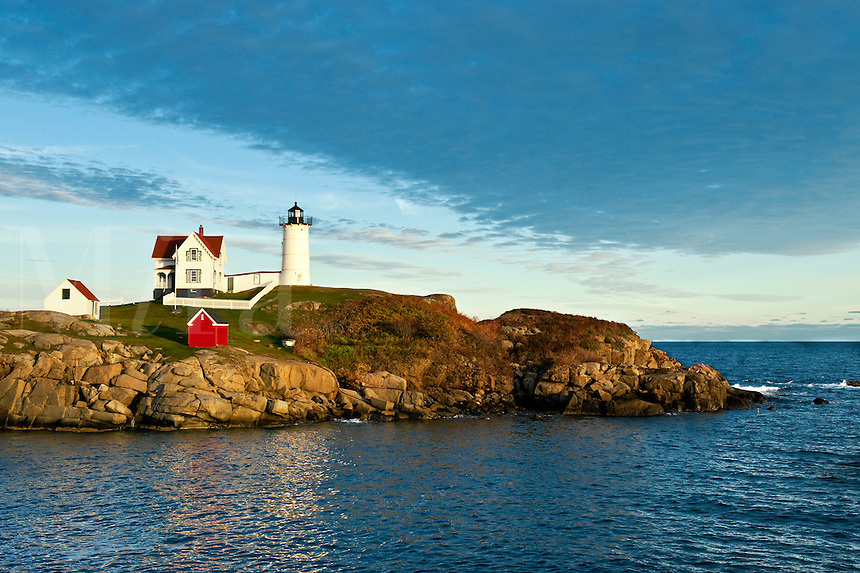 Nubble Light, Cape Neddick, York, Maine, USA