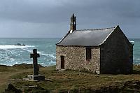 Europe/France/Bretagne/29/Finistère/Côte du Bas-Léon/ Landunvez: La chapelle Saint-Samson (1785). Elle était jadis l'objet d'une grande dévotion pour les maladies des yeux et les rhumatismes.