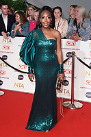 Angelica Bell<br /> arriving for the National Television Awards 2021, O2 Arena, London<br /> <br /> ©Ash Knotek  D3572  09/09/2021