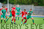 Action from Kerry v Cork City in the U19 soccer league.