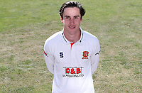 Will Buttleman of Essex poses for a portrait during the Essex CCC Press Day at The Cloudfm County Ground on 30th July 2020
