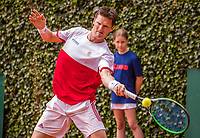 The Hague, Netherlands, 09 June, 2018, Tennis, Play-Offs Competition, Nick van der Meer (NED)<br /> Photo: Henk Koster/tennisimages.com