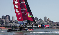 Up close and personal watching America's Cup practice on San Francisco Bay.  Went out with a friend on his little Boston Whaler so all I could manage for a camera was my Sony RX100.  It never fails to amaze my with its versatility and quality.
