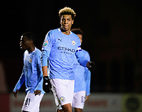 Manchester City U21's Felix Nmecha<br /> <br /> Photographer Chris Vaughan/CameraSport<br /> <br /> EFL Papa John's Trophy - Northern Section - Group E - Lincoln City v Manchester City U21 - Tuesday 17th November 2020 - LNER Stadium - Lincoln<br />  <br /> World Copyright © 2020 CameraSport. All rights reserved. 43 Linden Ave. Countesthorpe. Leicester. England. LE8 5PG - Tel: +44 (0) 116 277 4147 - admin@camerasport.com - www.camerasport.com