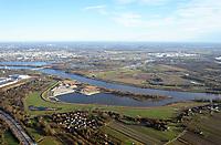 Kreetsand: EUROPA, DEUTSCHLAND, HAMBURG 07.01.2018:   Tiedeelbe Konzept Kreetsand, Hamburg Port Authority (HPA), soll auf der Ostseite der Elbinsel Wilhelmsburg zusaetzlichen Flutraum für die Elbe schaffen. Das Tidevolumen wird durch diese strombauliche Massnahme vergroessert und der Tidehub reduziert. Gleichzeitig ergeben sich neue Moeglichkeiten für eine integrative Planung und Umsetzung verschiedenster Interessen und Belange aus Hochwasserschutz, Hafennutzung, Wasserwirtschaft, Naturschutz und Naherholung.