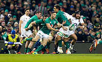 Saturday 2nd February 2019   Ireland vs England<br /> <br /> John Cooney during the opening Guinness 6 Nations clash between Ireland and England at the Aviva Stadium, Lansdowne Road, Dublin, Ireland.  Photo by John Dickson / DICKSONDIGITAL