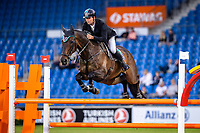 AUS-Kevin McNab rides Scuderia 1918 A Best Friend during the Jumping for the CCIO4*-S Eventing - SAP Cup. 2021 GER-CHIO Aachen Weltfest des Pferdesports. Aachen, Germany. Friday 17 September. Copyright Photo: Libby Law Photography