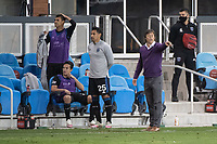 SAN JOSE, CA - NOVEMBER 04: Matias Almeyda Head Coach of the San Jose Earthquakes during a game between Los Angeles FC and San Jose Earthquakes at Earthquakes Stadium on November 04, 2020 in San Jose, California.