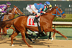 Honeybee Stakes (Grade III) at Oaklawn Park in Hot Springs, Arkansas-USA on March 8, 2014. (Credit Image: © Justin Manning/Eclipse/ZUMAPRESS.com)