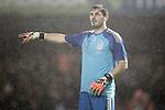 Spain's Iker Casillas during international friendly match.November 18,2014. (ALTERPHOTOS/Acero)