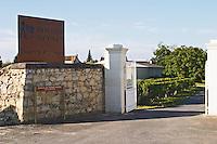 Winery building. Domaine des Roches Neuves, Saumur Champigny, Loire, France