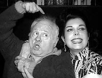 Mickey Rooney Ann Miller Undated<br /> Photo By Adam Scull/PHOTOlink.net