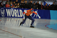 SPEEDSKATING: ERFURT: 19-01-2018, ISU World Cup, 500m Men A Division, Dai Dai Ntab (NED), photo: Martin de Jong